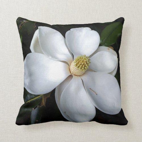 A nice magnolia throw pillow