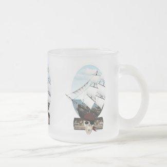A Pirate Ship Coffee Mug