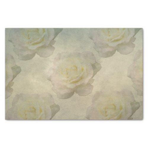 A Vintage Rose Romance Tissue Paper 10