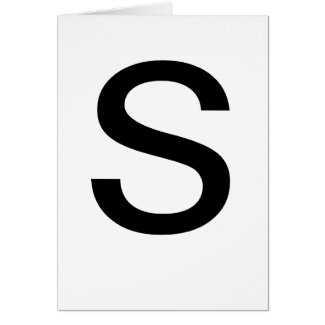ABC Cards S for Learning ABCs CricketDiane Stuff zazzle_card