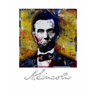 Abraham Lincoln - Painting shirt