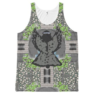Abstract Angel Art Unisex Tank All-Over Print Tank Top