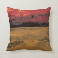 Abstract colorful throw pillow. throw pillow | Zazzle