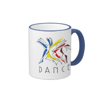 Abstract Dancers - Gotta Dance Coffee Mug