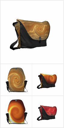 Abstract Designs Messenger Bags