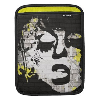 Abstract/graffiti Rickshaw ipad sleeve