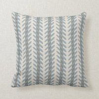Blue Grey Pillows - Decorative & Throw Pillows | Zazzle
