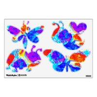 Insect Wall Decals & Wall Stickers | Zazzle