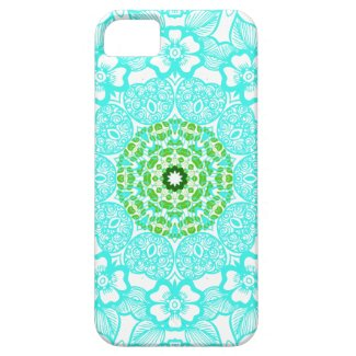 Abstract pattern mandala iphone 5 cases