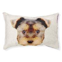 Yorkie Dog Beds | Zazzle