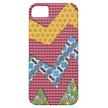 Abstract Zig Zag Fun Case-Mate iPhone 5