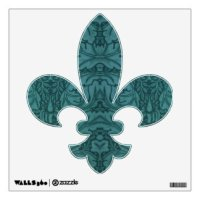 Fleur De Lis Wall Decals & Wall Stickers | Zazzle
