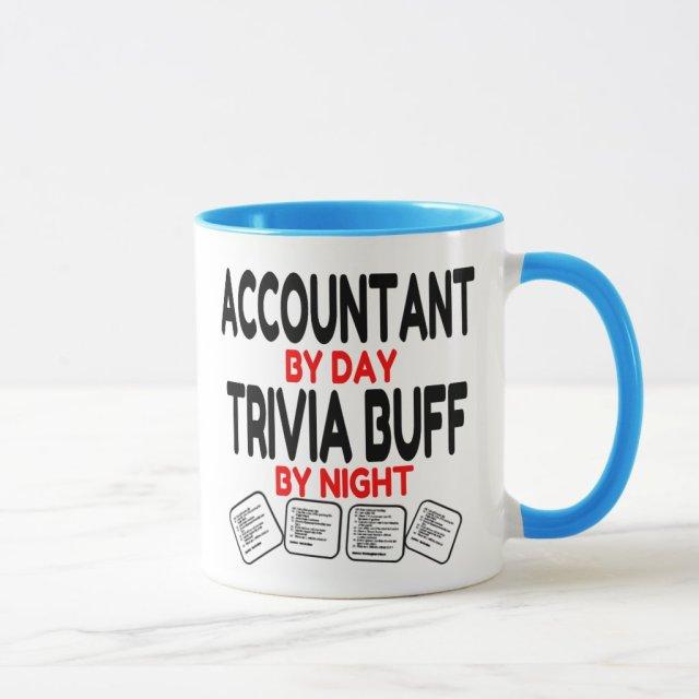 Accountant by Day Trivia Buff by Night Mug