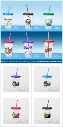 Acrylic Tumblers with Lids Collection