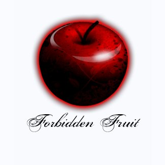 Adam and Eve Apple - The Forbidden Fruit shirt