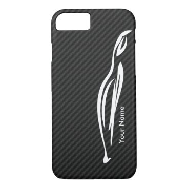 Add your name - Hyundai Genesis Coupe silhouette iPhone 7 Case