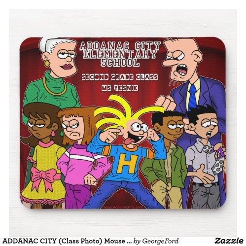 ADDANAC CITY (Class Photo) Mouse Pad