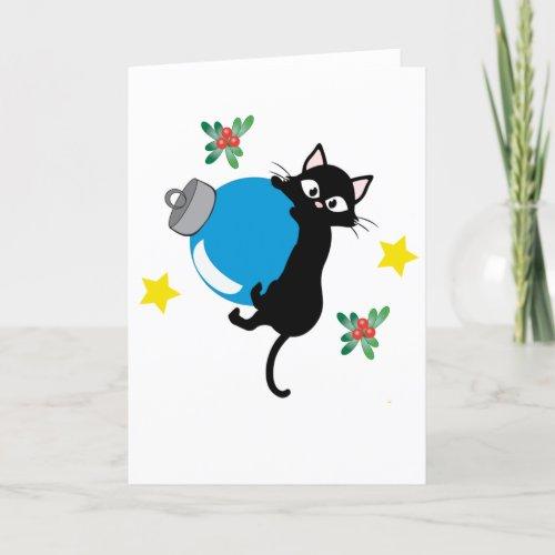 Adopt: Having A Ball This Christmas! Holiday Card