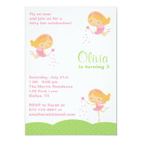 Adorable Fairy Invitations