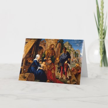 Adoration of the Magi by Albrecht Dürer, 1504AD Holiday Card