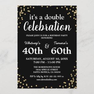 twin birthday invitations zazzle
