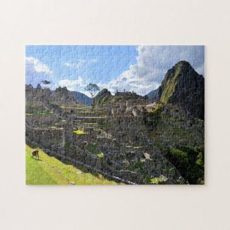 Afternoon at Machu Picchu, Peru Jigsaw Puzzle
