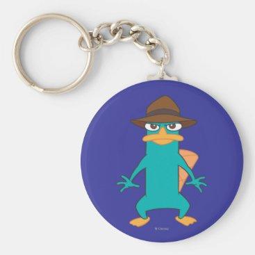 Agent P Pose Keychain