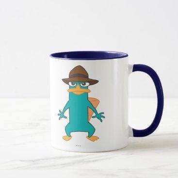 Agent P Pose Mug