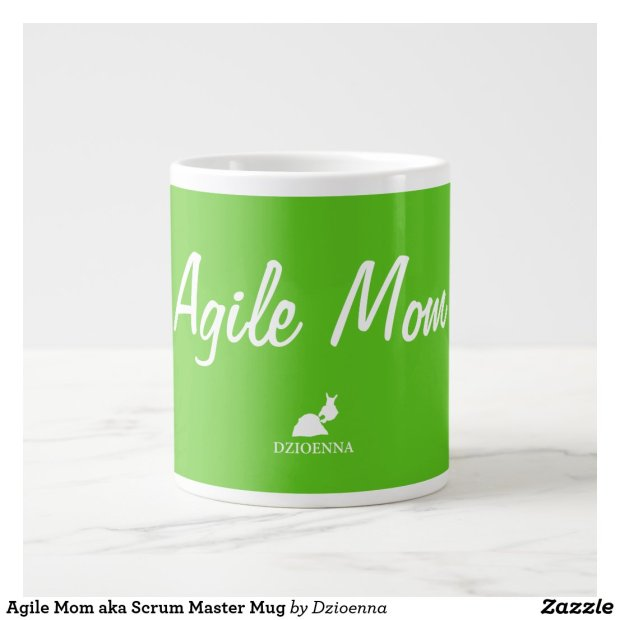 Agile Mom aka Scrum Master Mug