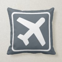 Airplane Pillows - Decorative & Throw Pillows | Zazzle