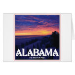 Alabama Dark Sunset cards