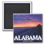 Alabama Dark Sunset magnets