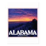 Alabama Dark Sunset postcards