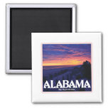 Alabama Dark Sunset magnets