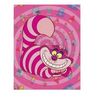Alice in Wonderland | Cheshire Cat Smiling Poster