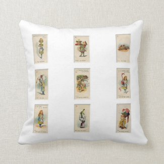 Alice in Wonderland Pillows