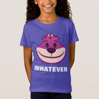 Alice In Wonderland | The Cheshire Cat Emoji T-Shirt