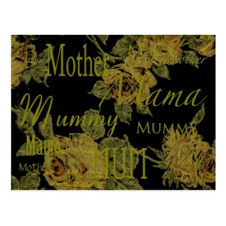 All Mothers' Day Post Card