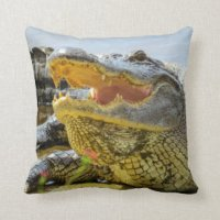 Gator Pillows - Decorative & Throw Pillows | Zazzle