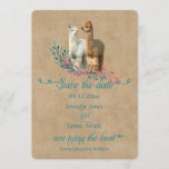 Alpaca Country Save the Date Invitations