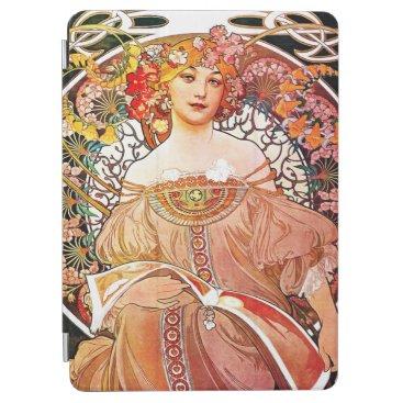 Alphonse Mucha Daydream Floral Vintage Art Nouveau iPad Air Cover
