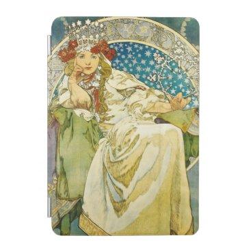 Alphonse Mucha Princess Hyacinth Art Nouveau iPad Mini Cover