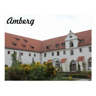 "Amberg ""Landratsamt"" Post Card"