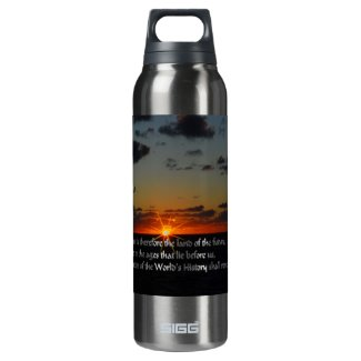 America and the future insulated water bottle