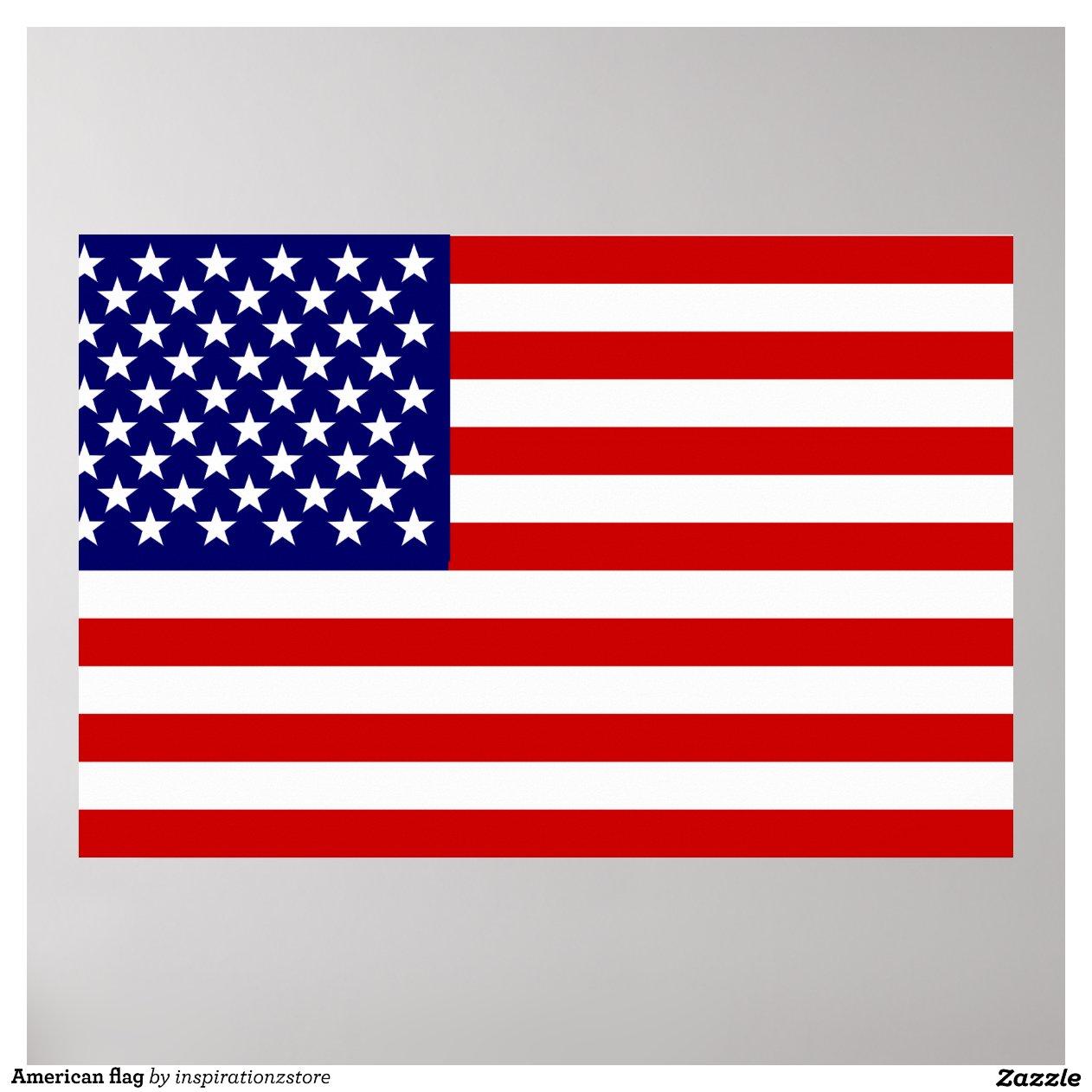American Flag Poster-r601983131aeb4714a172de5cc2a9aa7c W2u