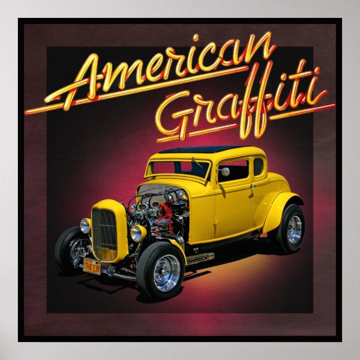 american graffiti poster zazzle com