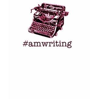 #amwriting shirt