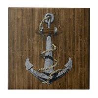 Anchor Ceramic Tile   Zazzle