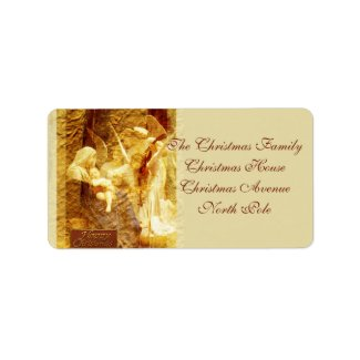 Angel Love Address Label