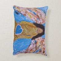 Angel throw pillow | Zazzle